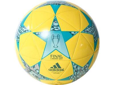 ADIDAS Fußball Finale Cardiff Capitano Gelb