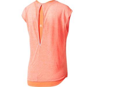 ADIDAS Damen Supernova TKO Two-Layer T-Shirt Pink