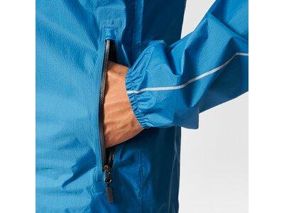 ADIDAS Herren Jacke TERREX Fast-Pack 2.5-Layer Jacke Blau
