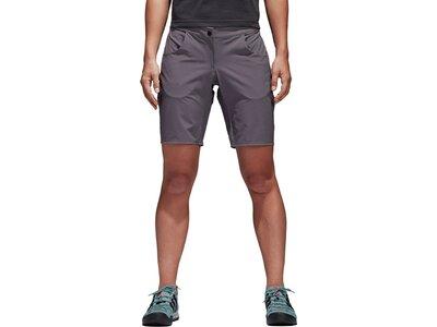 ADIDAS Damen Shorts Terrex Solo Shorts Braun