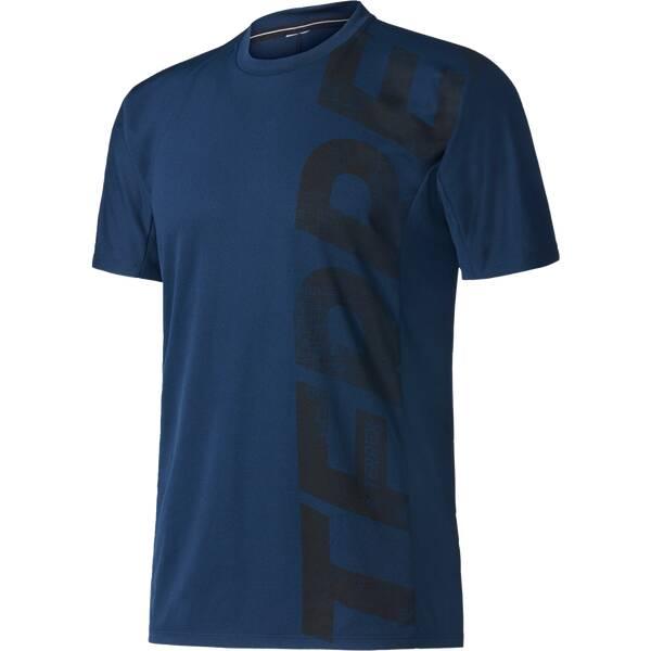 ADIDAS Herren Shirt Trailcross T-Shirt Blau