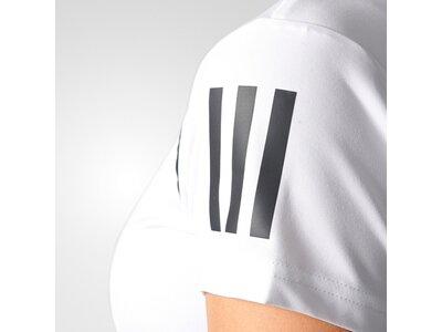 ADIDAS Damen Tennisshirt Club Tee Kurzarm Weiß