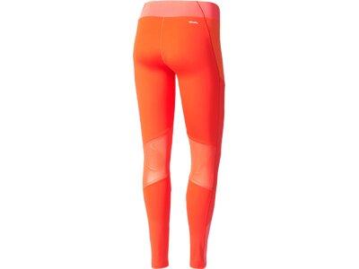 ADIDAS Damen Funktionstights / Trainingstights WOW Drop Orange