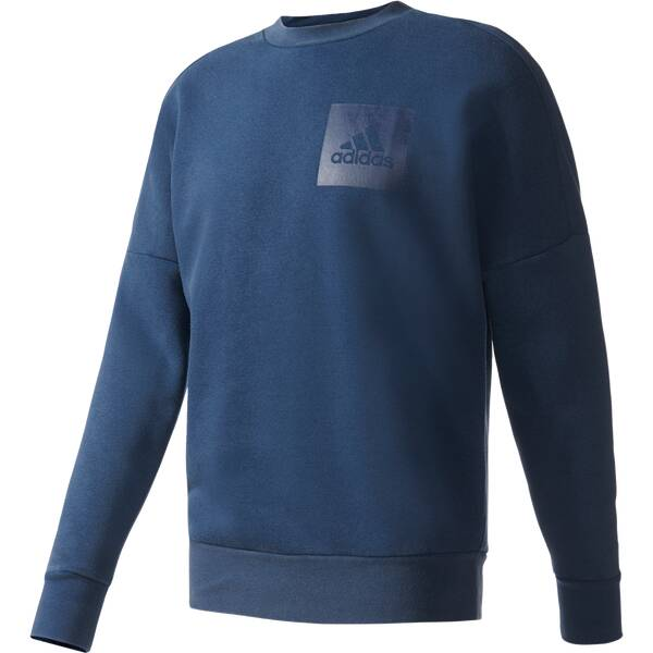 ADIDAS Herren Sweatshirt Snow-Washed Fleecepullover