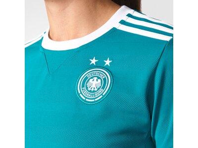 ADIDAS Damen Trikot DFB Auswärtstrikot Replica Blau