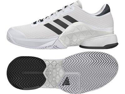 ADIDAS Herren Tennisoutdoorschuhe Barricade 2017 Schuh Weiß