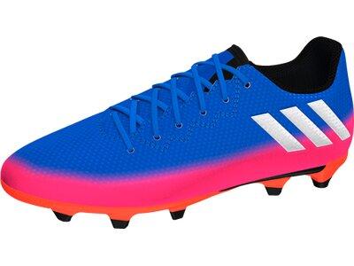 ADIDAS Kinder Fussball-Rasenschuhe Messi 16.3 FG Fußballschuh Blau
