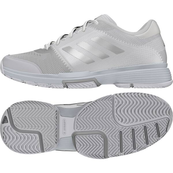 ADIDAS Damen Tennisoutdoorschuhe Barricade Club Schuh Weiß