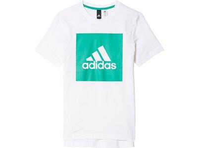 ADIDAS Kinder Shirt Essentials Logo T-Shirt Pink
