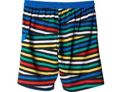 ADIDAS Kinder Badeshorts Allover Graphic Water Shorts Braun