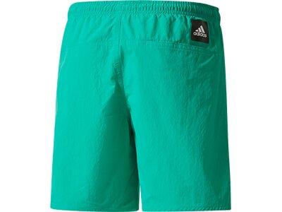 ADIDAS Kinder Badeshorts 3-Streifen Badeshorts Grün