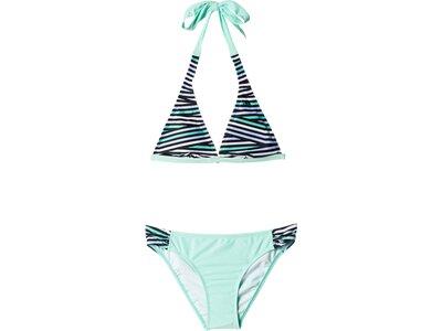 ADIDAS Damen Bikini Allover Print Bikini Grau