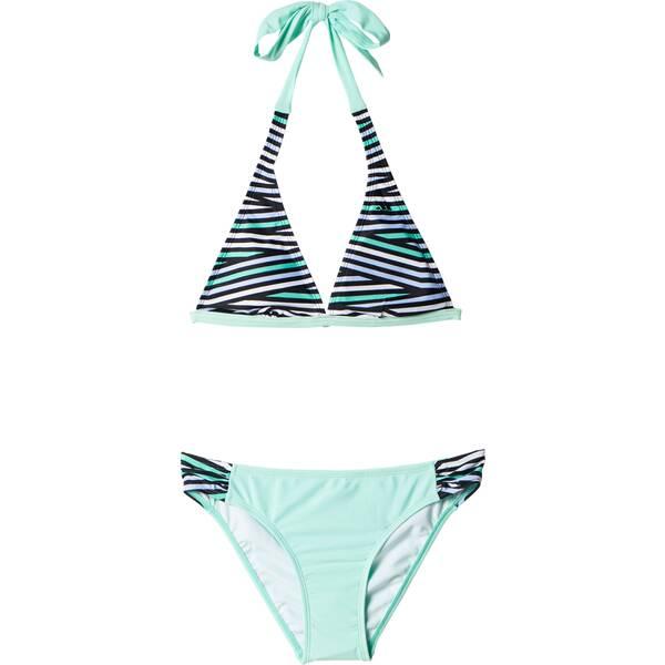 Bademode - ADIDAS Damen Bikini Allover Print Bikini › Grau  - Onlineshop Intersport