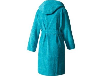 ADIDAS Kinder Bademantel 3-Streifen Blau