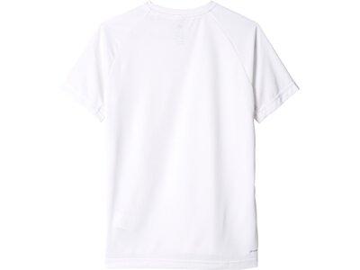 ADIDAS Boys Shirt Kurzarm Pink