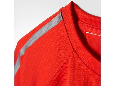 ADIDAS Kinder Shirt Rot