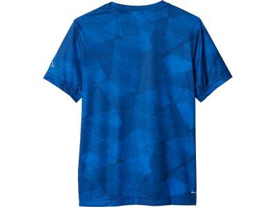 ADIDAS Kinder Shirt Printed Training T-Shirt Blau