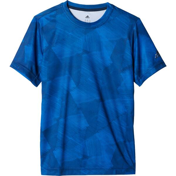 ADIDAS Kinder Shirt Printed Training T-Shirt Blau