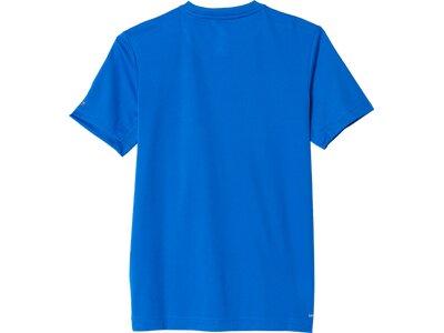 ADIDAS Kinder Shirt Training Slogan Blau