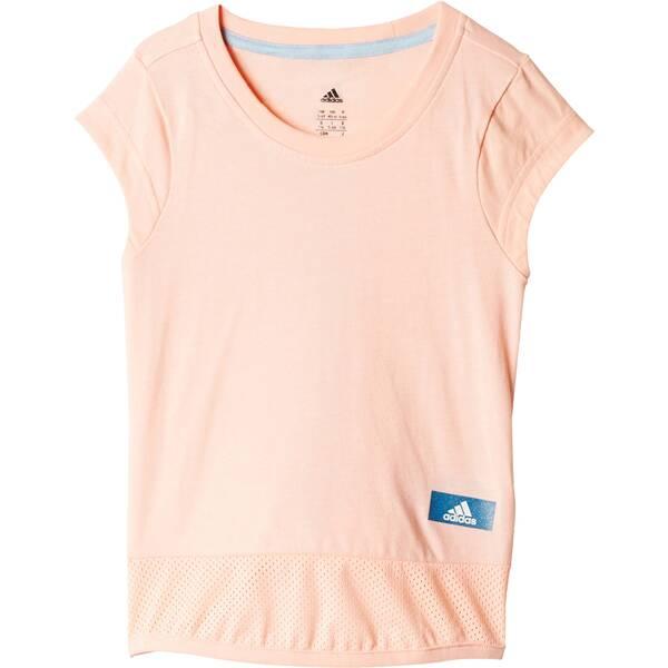 ADIDAS Kinder Shirt ID Long T-Shirt Rosa