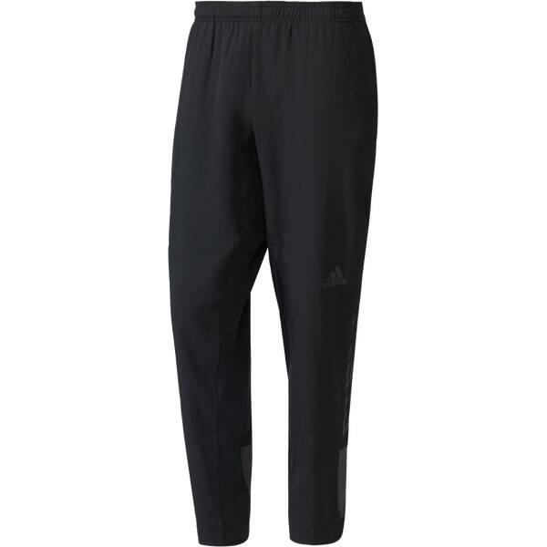 ADIDAS Herren Sporthose Workout Woven Grau