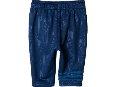 ADIDAS Kinder Shorts Spider-Man 3/4-Hose Blau
