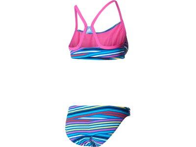 ADIDAS Damen Bikini INFINITEX+ Allover Graphic Bikini Blau