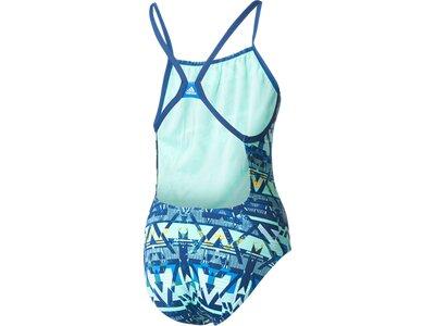 ADIDAS Damen Badeanzug INFINITEX+ Graphic Badeanzug Blau