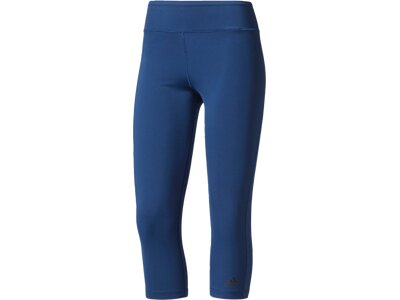 ADIDAS Damen 3/4-Tight Ultimate Fit Blau