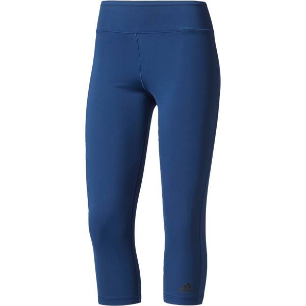 Hosen - ADIDAS Damen 3 4 Tight Ultimate Fit › Blau  - Onlineshop Intersport