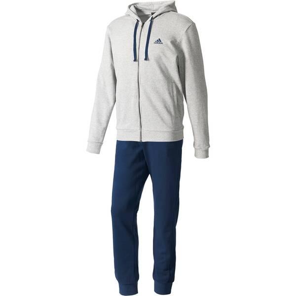 ADIDAS Herren Sportanzug Energize Trainingsanzug Blau