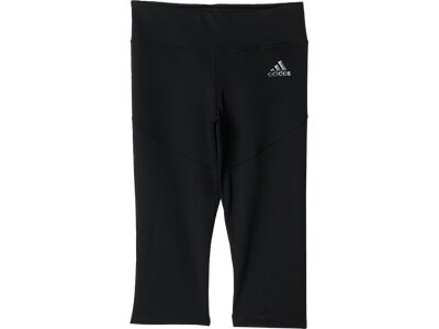 ADIDAS Kinder 3/4 Tight Techfit Schwarz