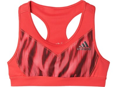 ADIDAS Kinder Top Printed Graphic Sport-BH Rot