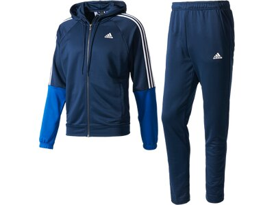 ADIDAS Herren Sportanzug Re-Focus Trainingsanzug Blau