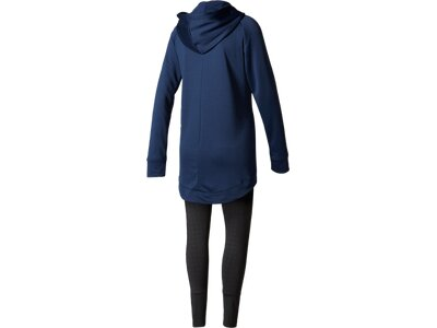 ADIDAS Damen Trainingsanzug Hoodie and Tights Grau