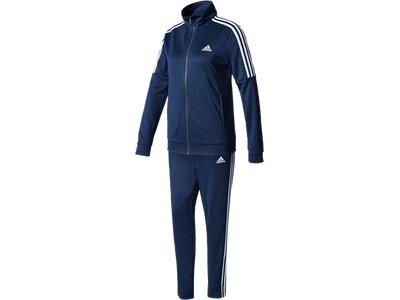 adidas jogginganzug damen grau blau