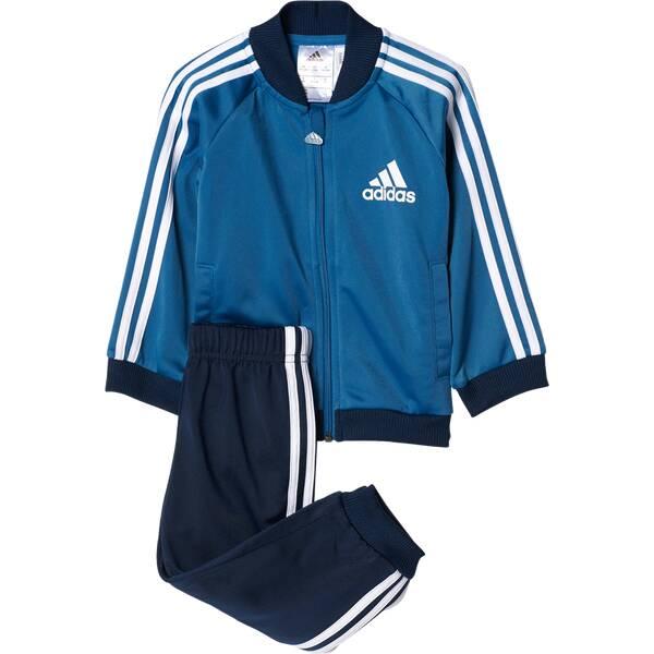 ADIDAS Kinder Sportanzug Shiny Sports Trainingsanzug Blau