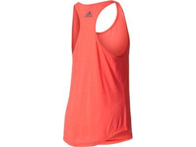 ADIDAS Damen Tanktop Essentials Linear Loose Rot
