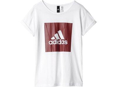 ADIDAS Kinder T-Shirt Essentials Logo Pink