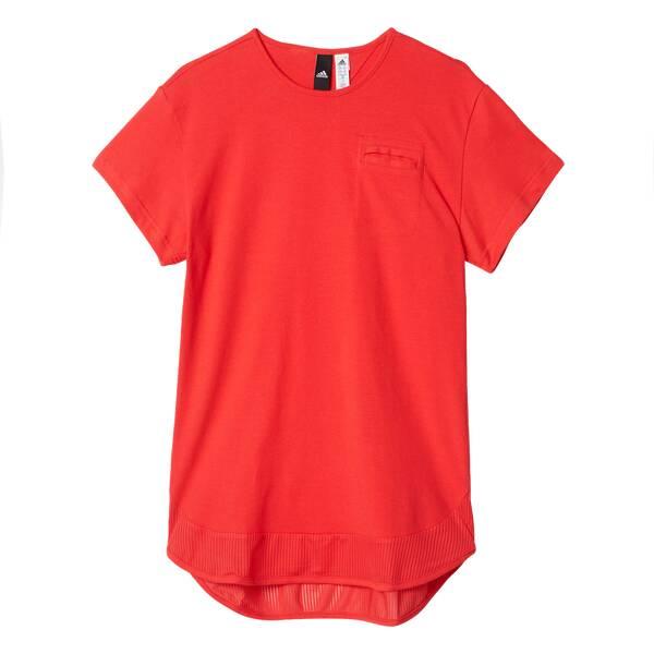 ADIDAS Kinder Kleid ID Rot