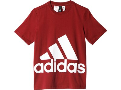 ADIDAS Kinder T-Shirt Essentials Big Logo Rot