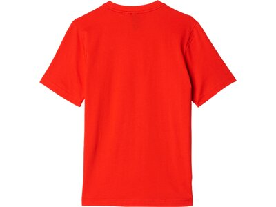 ADIDAS Kinder T-Shirt Essentials Big Logo Rot