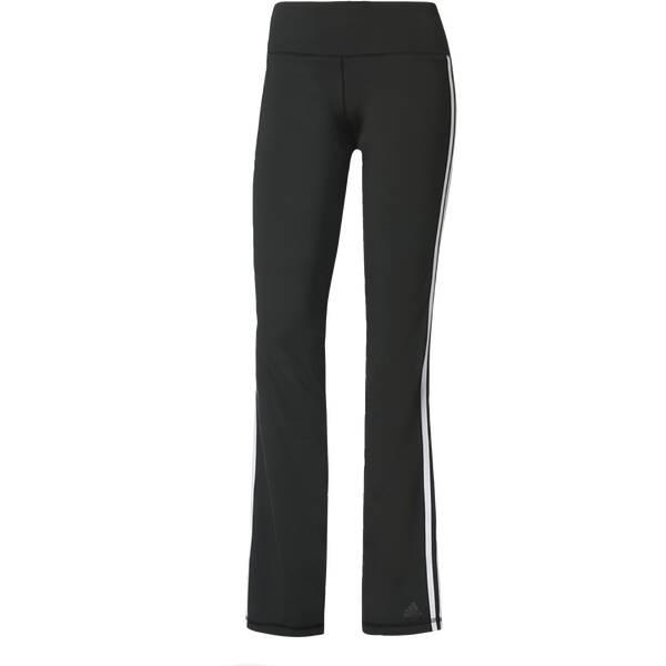 ADIDAS Damen Sporthose D2M 3-Streifen Grau