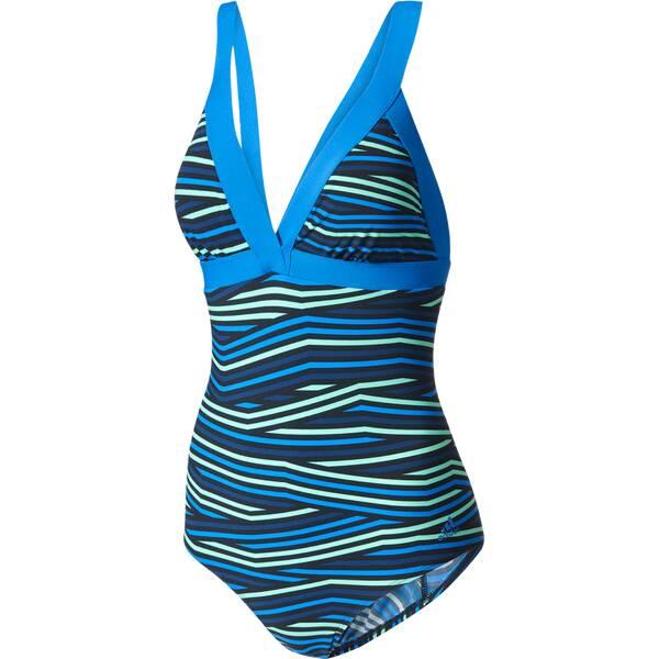 Bademode - ADIDAS Damen Badeanzug Aquasport Badeanzug › Blau  - Onlineshop Intersport