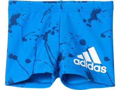 ADIDAS Kinder Boxer-Badehose Graphic Blau