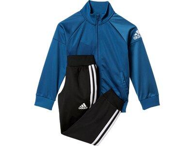 ADIDAS Kinder Sportanzug Trainingsanzug Schwarz