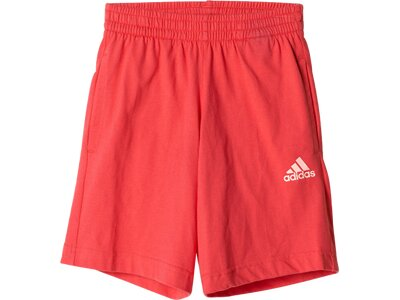 ADIDAS Kinder Sportanzug Linear Summer Mini Set Rot