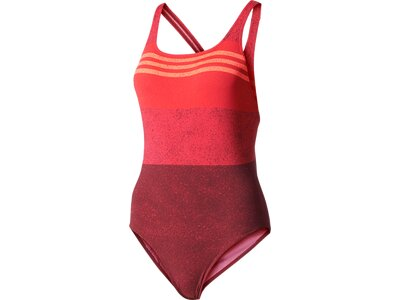 ADIDAS Damen Badeanzug Essence Flare 3-Stripes Graphic Lila