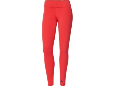 ADIDAS Damen Tight D2M Long Tight Rot