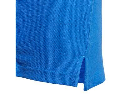 ADIDAS Kinder Polo TIRO17 CO POLOY Blau